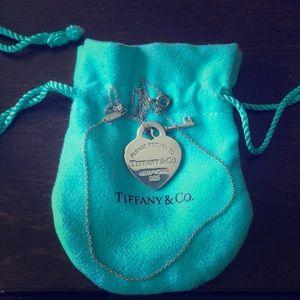 Jewelry - Original Tiffany&Co. Heart necklace